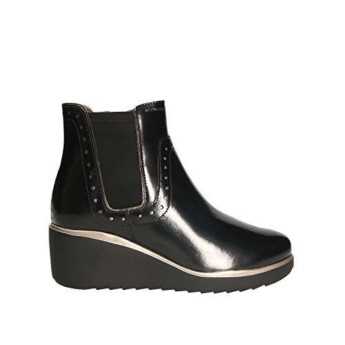 Bottines - Boots, couleur Noir , marque STONEFLY, modèle Bottines - Boots STONEFLY ECLIPSE 2 Noir