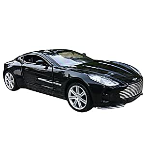 Buy Car Toys 1 32 Black Aston Martin Model Car Online At Low Prices In India Amazon In