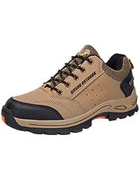 Logobeing Senderismo Zapatillas de Deporte Hombres Zapatillas Trekking Antideslizante Caza Turismo Mountain Sneakers Botines Hombre