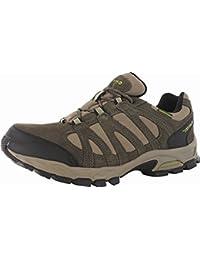 Hi-Tec para hombre Casual Calzado deportivo botas alto WP cordones zapatos de senderismo, multicolor, Mens 12
