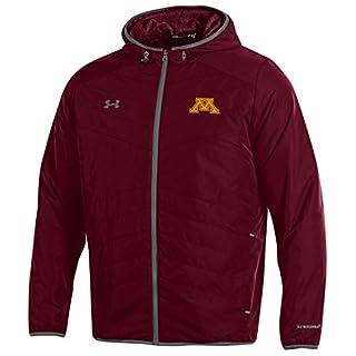 Under Armour Unisex's Storm1 NCAA Men's Storm-1 Hybrid Jacket, Maroon, XXL