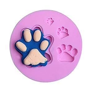 CAT Bear Paw Silicone Fondant Moule chocolat Argile polymère Moule