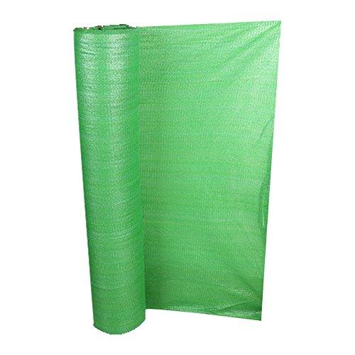 HUO Tissu D'ombre De Sun, Filet Résistant Aux UV, Filet Antipoussière, Auvent De Couverture De Sol, Filet D'auvent De Protection Solaire (Couleur : Vert, Taille : 2 * 100m)