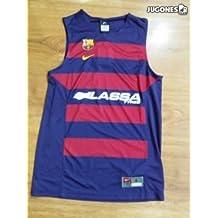 Nike FC Barcelona Replica Jersey - Camiseta sin mangas para hombre, color azul, talla