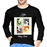 Photo de T-Shirts à Manches Longues, Homme, Hauts, Chemises Casual, T-Shirts et Tops de Sport, Gotye Making Mirrors Men's Long Sleeve T Shirt Black par BYYKK