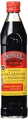 Borges Vinagre Balsámico de Modena - 500 ml, Pack de 6