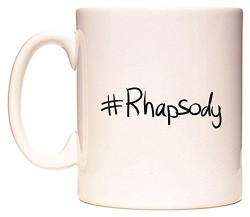 #Rhapsody Becher von WeDoMugs Rhapsody Tee
