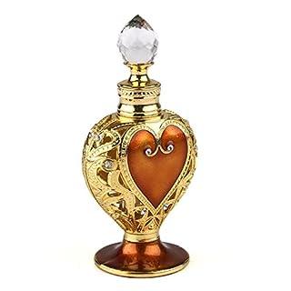 Vintage Herz Form Parfumflakon Parfümflasche Parfümzerstäuber Leer Nachfüllbar 12ML …