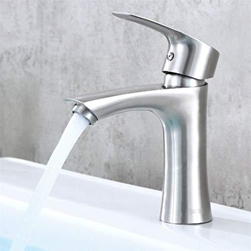 ROTOOY Wasserhähne 304 Edelstahl High-Heel Becken Heißen Und Kalten Wasserhahn Bad Waschbecken Becken Ventil Ventil (Jade Heels)