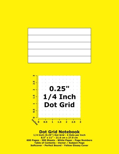 dot-grid-notebook-025-inch-1-4-dotted-grid-85-x-11-216-cm-x-279-cm-600-pages-300-sheets-white-paper-