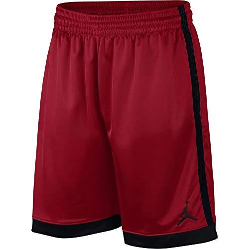 Nike Herren M J Jumpman Shimmer Short Sport, Gym red/Black, S - Stricken Gym Short