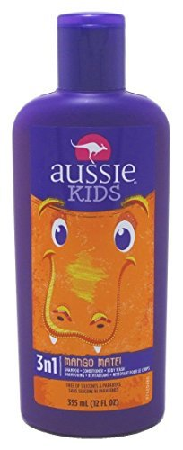 Aussie, Kids 3n1 Shampoo+Conditioner& Bodywash Mango Mate (12 fl oz, 2 Pack) by Aussie