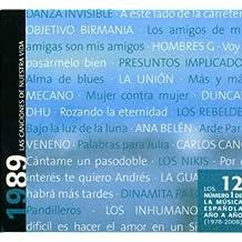 Los 12 numero 1 de la Musica Española año a año 1989