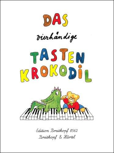 Das vierhändige Tastenkrokodil Leichte Klavierstücke für Kinder (EB 8562)