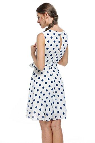 MEXI - Robe - Femme Blanc