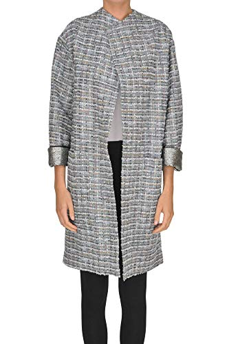 Antonio Marras EZGL148007 Damen Grau Andere Materialien Mantel