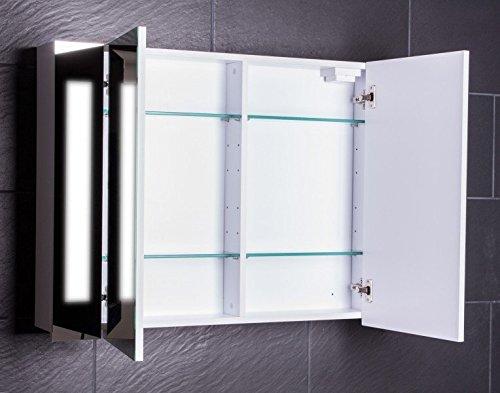 Spiegelschrank Curve 100 von Galdem Spiegelschränke 100 cm - 2