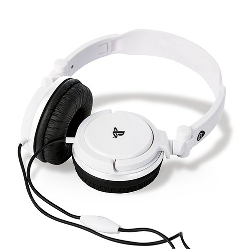 Cuffie Gaming Stereo Bianco Sotto licenza ufficiale Playstation