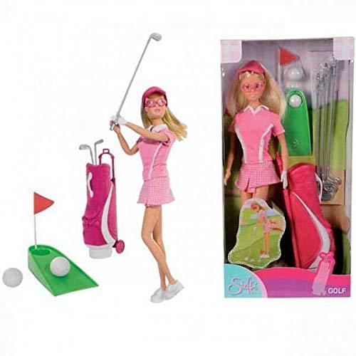 FidgetGear SIMBA Steffi Love Puppe Golf Edition viel Zubehör Ankleidepuppe Sammlerstück as picture show One