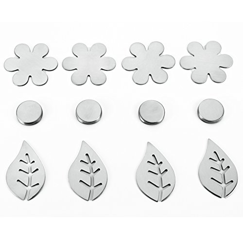 Tischtuch-Magnet aus Edelstahl (4er Pack)