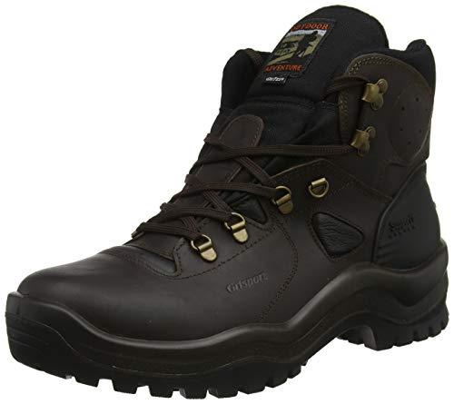 Grisport Como, Stivali da Escursionismo Alti Unisex-Adulto, Marrone (Brown 001), 40 EU