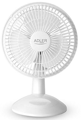 Tischventilator Ø15cm kleiner Ventilator | Luftkühler | Lüfter | Leiser Betrieb für Büro Schlafzimmer | Windmaschine