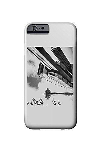 Seattle, Washington - Space Needle and Monorail - Vintage Photograph (iPhone 6 Cell Phone Case, Slim Barely There) - Monorail, Space Needle