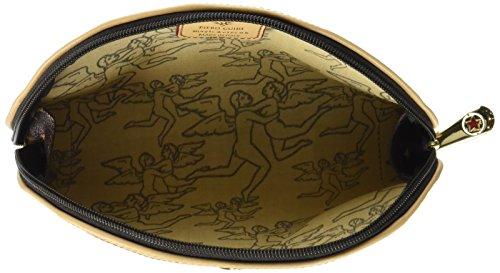 piero guidi Cosmetic Case, Organizer Borsa Donna, 20x12x4 cm (W x H x L) Marrone (Testa di Moro)