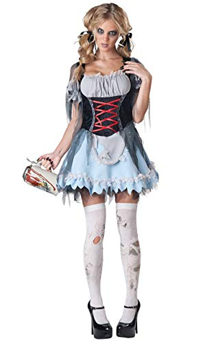 Sexy Zombie Beer Maiden Costume Adult Small