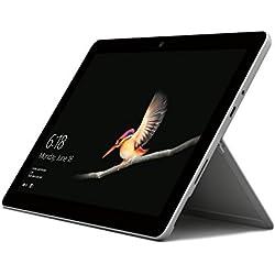 Microsoft Surface Go Tablet, Processore Pentium, 4 GB di RAM, eMMC da 64 GB, Grigio