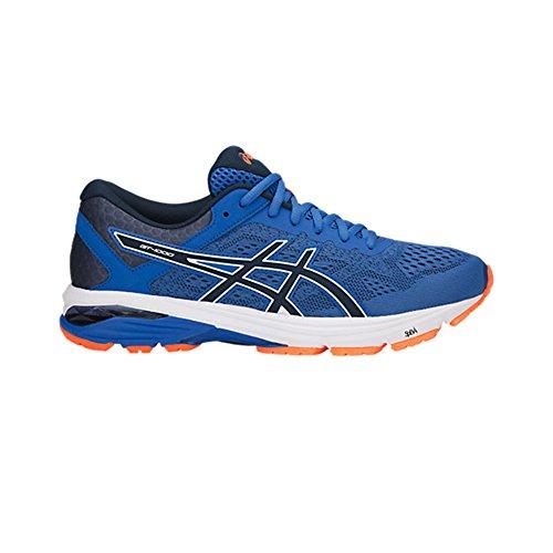 Asics Gt-1000 6 Chaussures Pour Hommes Victoria Blue/Dark Blue/Shocking Orange