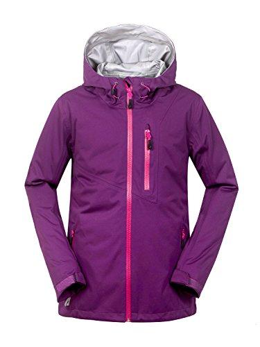 aparso Veste d'extérieur pour femme 3couches Veste fonctionnelle veste Hardshell Lilas