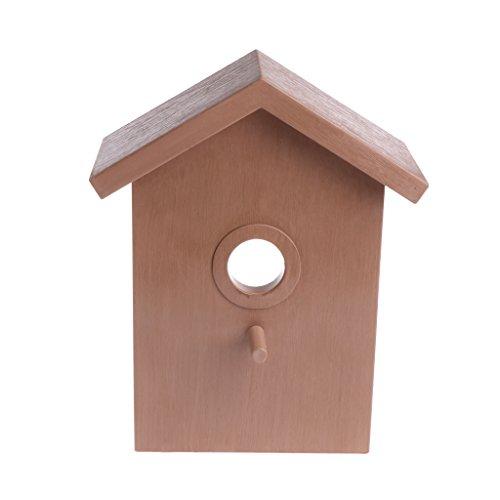 Guangtian Vogel Haus Schwalbe DIY Nest Home Decoration Outdoor Zucht Nymphensittich Box Dach