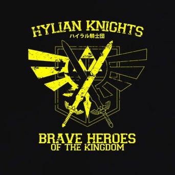 TEXLAB - Hylian Knights - Herren T-Shirt Violett