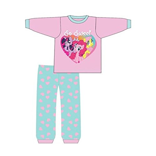 Mädchen-Schlafanzug für Babys oder Kleinkinder mit Disney Minnie Mouse / Me to you Tatty Teddy Design, Pyjama-Set, Größe: 6 - 24 Monate Gr. 6-9 Monate, My Little Pony - So Sweet -