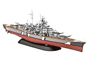Revell 05098 Bismarck - Acorazado a escala Importado de Alemania