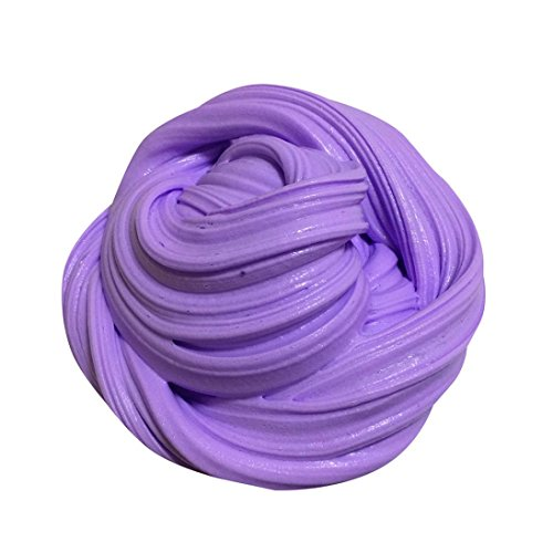 Chaud vendre ! Tefamore Duveteux Floam Slime parfumé Soulagement du stress No Borax Kids Toy (violet)