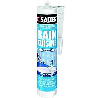 Sader 30605252Tube Spachtelmasse für Bad/Küche transparent
