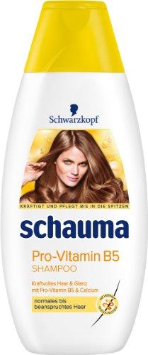 Schauma Pro-Vitamin B5 Shampoo, 4er Pack (4 x 400 ml)