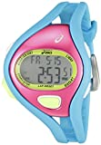 Asics CQAR0503 - Reloj digital de cuarzo unisex con correa de silicona, color azul