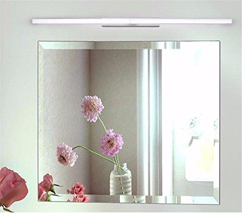 SJUN Led Spiegel Beleuchtung Bad Spiegel Schränke Minimalistischen Spiegel Leuchten Bad Make-Up Kommode Bad Bad Spiegel Leuchte,60Cm/9W/Warmes Licht