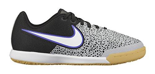 Nike  JR Magistax Pro IC, Herren Fußballschuhe Gris (Wolf Grey / White Black Frc Prpl)
