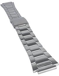 Casio Ersatzband Uhrenarmband Edelstahl Band Silberfarben für AE-1000 AQW-100 AQW-101 SGW-300 SGW-400 10485930