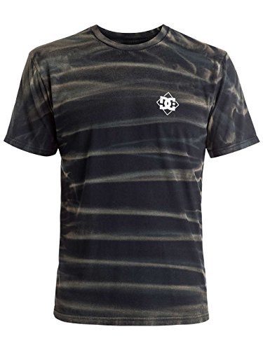Herren T-Shirt DC Solo Stripped T-Shirt Black