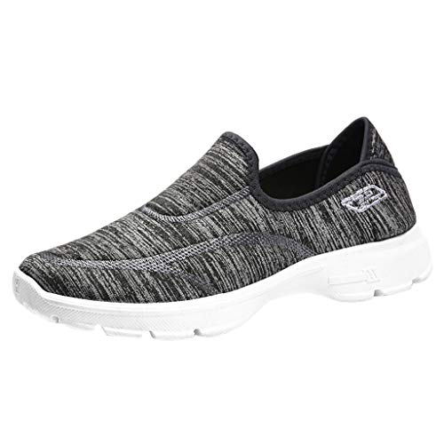 Makefortune 2019 Damen Sneaker, Frauen Sommer Damenmode gewebt Flache Multi Farben Sandalen Peep Toe Freizeitschuhe Walking Schuhe Strand Sandalen Hausschuhe