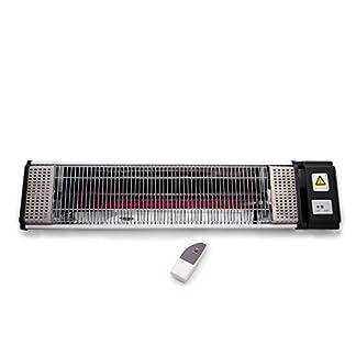 Airel Estufas Infrarrojos Control Remoto | Estufas Eléctricas | Estufas Infrarrojos Exterior | Radiador Eléctrico Infrarrojos Pared | Estufas Exteriores para Terrazas