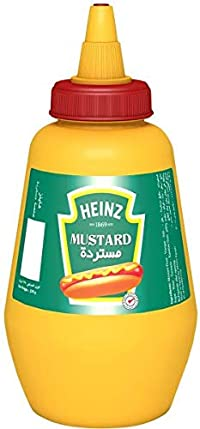 Heinz Plain Mustard, 245g