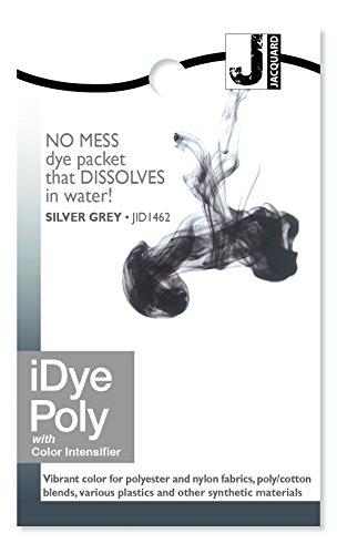 Jacquard iDye Stoff Dye 14grams-black Silvergrey (Black Dye-polyester)