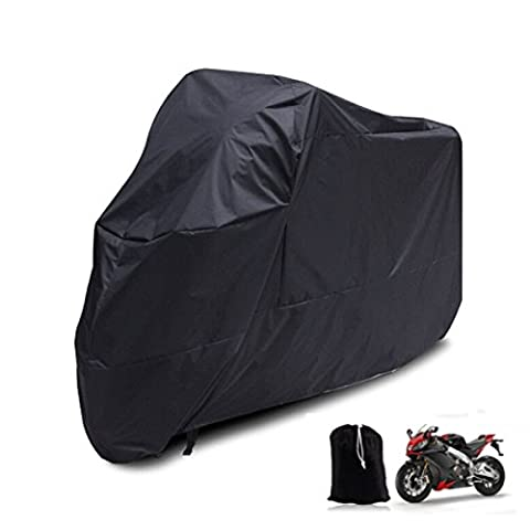 Motorcycle Cover - All Season Waterproof Outdoor Tour Bike Bicycle