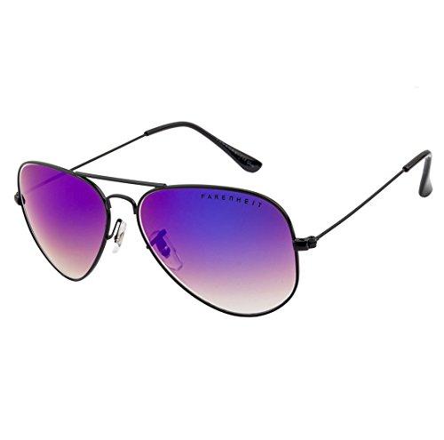 Farenheit Aviator Sunglasses|FA-4061-C4-Purple|